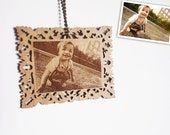 Personalized Ornament (custom photo engraving)