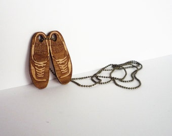 Shoes Necklace by Vectorcloud