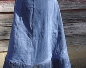 Custom Crafted - Deconstructed Jean Skirt