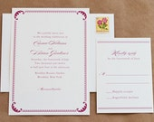 Regal Wedding Invitation and Rsvp