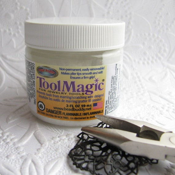 Tool Magic - Protect your jewelry components while you create, Protective coating for pliers, Rubber layer for jewelry making, 2 oz.