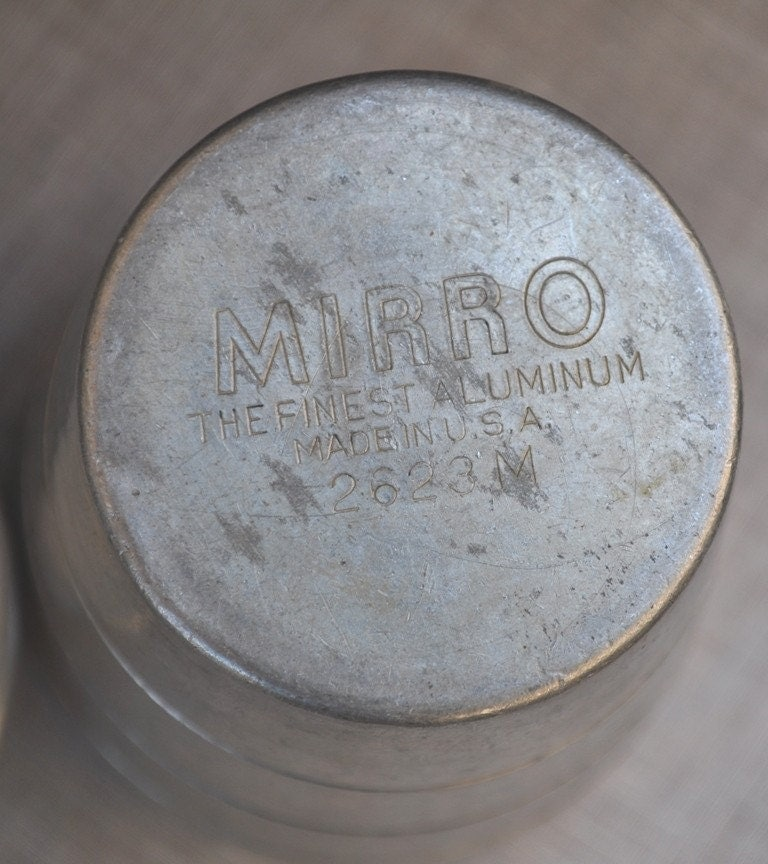 Mirro the finest aluminum made in usa dating