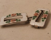 Metal Hand-Painted Barrettes