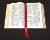 Satin Ribbon - Bookmark Insert wide ribbon