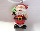 3D Santa Necklace