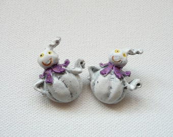 Friendly Ghost Stud Earrings