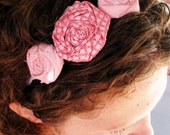 Oh Happy Day Rosette Headband - Pink