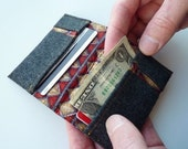 The Hubby Wallet in Wool and Silk