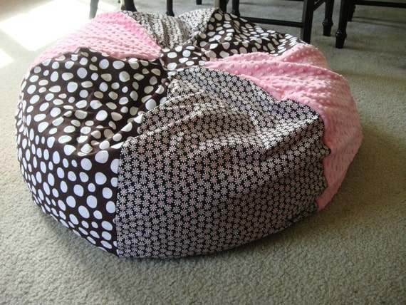 Cozy Bean Bag Chair Cover Girl By Rzcozycreations On Etsy