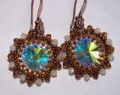Swarovski Rivoli Crystal Earrings