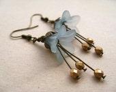 lily dangles. (blushing blue)
