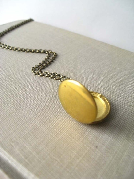travelers locket. necklace, round locket charm necklace, dangle necklace, travel memory keepsake, raw brass, cute jewelry gift idea