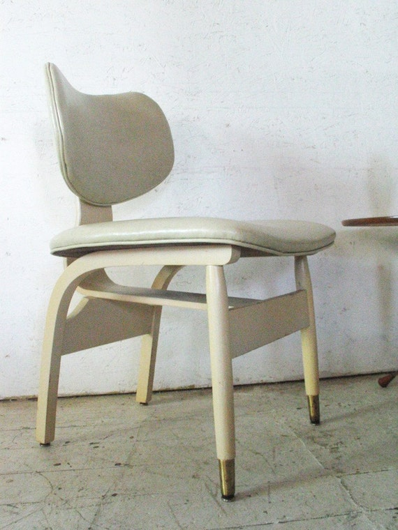 Mid Century Modern Lounge or Desk Chair , Thonet Eames Style  c 1950s 60s - Mid Century Modern Furniture