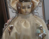 Beautiful Old Salvaged Infant of Prague statue