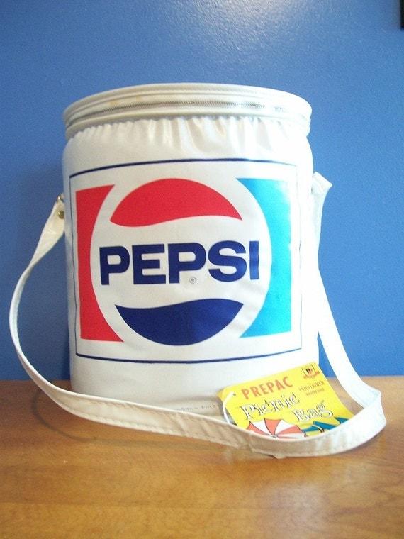 Retro 1980 S Pepsi Cola Soda Pop Picnic By Recyclebuyvintage