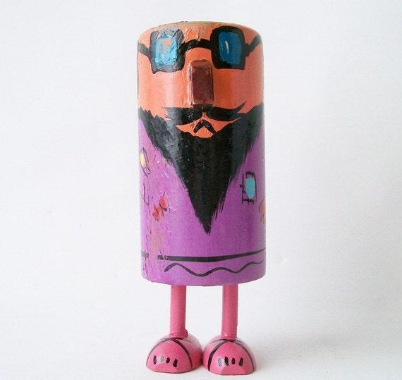 vintage pride creations pop up popsies like happy birthday man gift hippie beatnik guy retro mod sixties