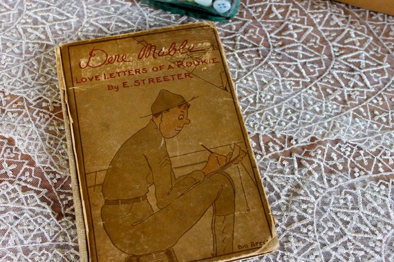 Vintage book, Dere Mable, Love Letters of a Rookie 1918, On Sale
