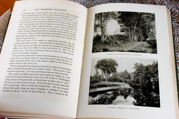 Vintage book, New Hampshire Beautiful by Wallace Nutting, On Sale
