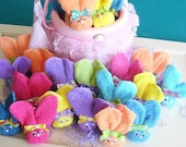 Boo Boo Bunnies (BUY 6 Get 2 FREE) Multicolor Easter Baby Shower Favors