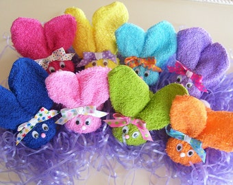 Easter Boo Boo Bunnies (Buy 6 Get 2 Free) Baby Shower Favors
