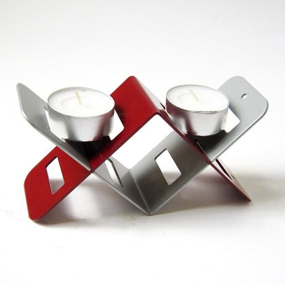 Pamot2Go - 2 parts double candles holder  **SALE** buy 1 get 1 free! - Judaica made in ISRAEL