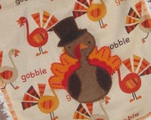 Gobble Gobble Thanksgiving Turkey Bib
