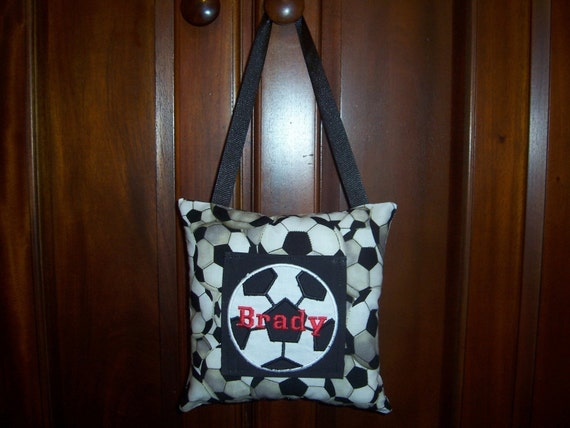 Soccer Ball Tooth Fairy Pillow