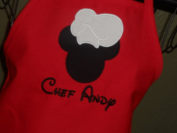 Chef Mouse Personalized Apron