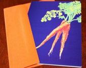 CARROT Happy Gardening card