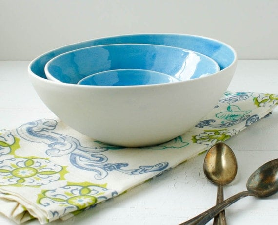 Sale Cerulean Nesting Bowl Set