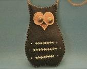 Owl Felt Decoration