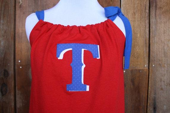 Texas Rangers Baseball Game Day Swing Top - Size Small/Medium
