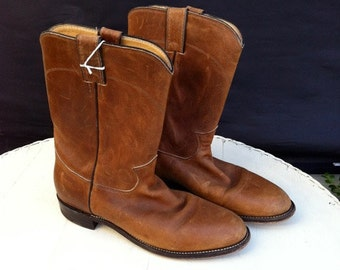 Justin Leather Motorcycle Boots