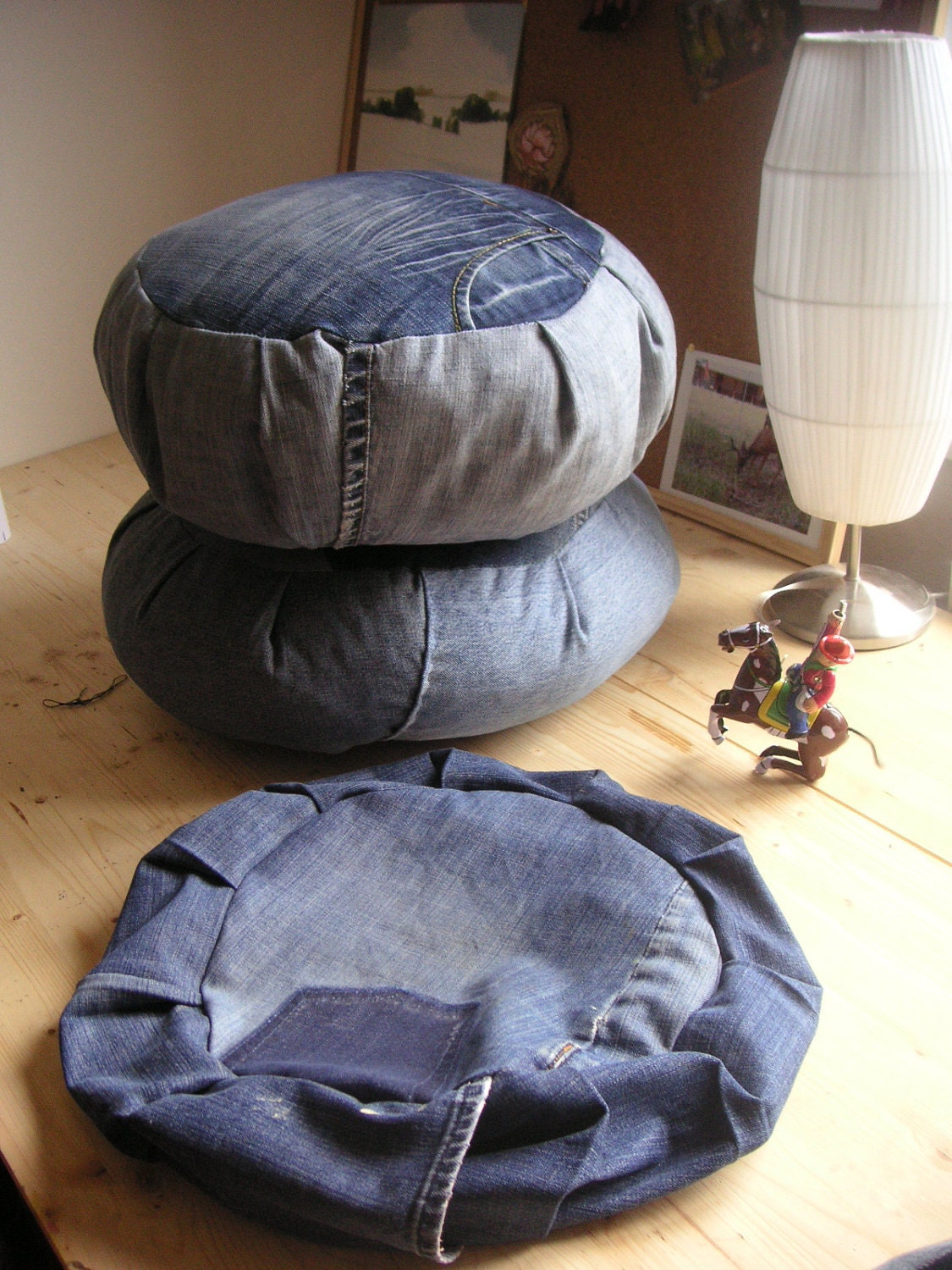 Diy Denim Zafu How To Instructions For Meditation Cushion