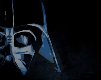 Star Wars Darth Vader Original Painting