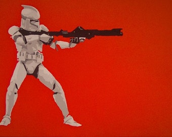 Star Wars CloneTrooper Original Painting