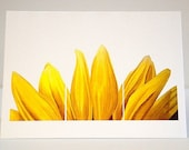 4x5 Notecard with envelope - Sunflower Rising by Eriksdotter