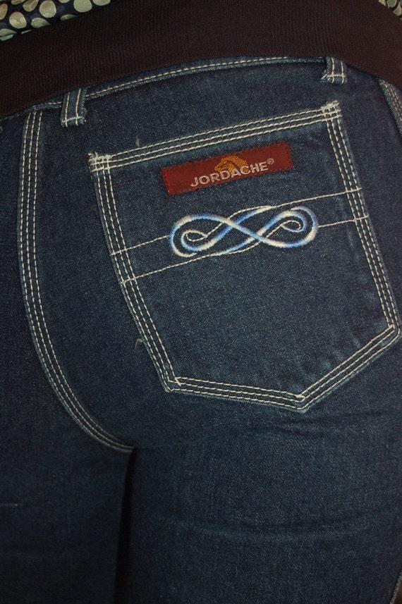 80s Jordache Dark Denim Jeans-So Retro