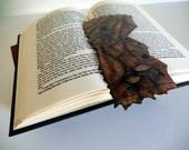 Gloriously Gothic Altered Book Art/Bookmark-Christine-OOAK