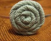 SALE Sage Fabric Flower Headband