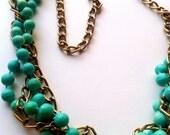 Neon Multi  Layered Chain Necklaces