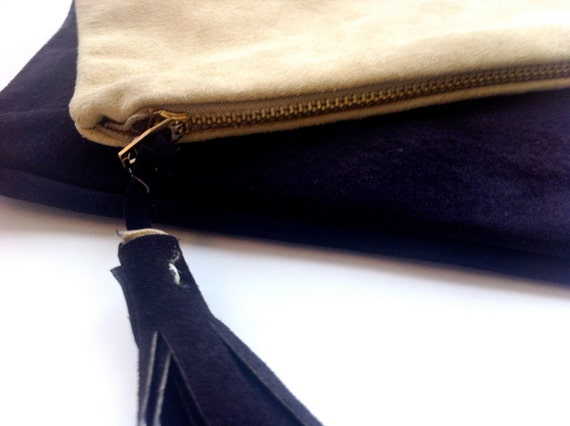 Ombre' Fold Over Clutch Handbags