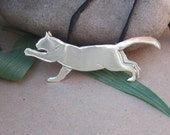 Stretching Cat Pendant