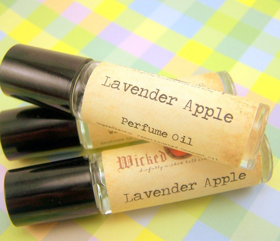 Lavender Apple - Roll On Perfume Oil by WickedSoaps