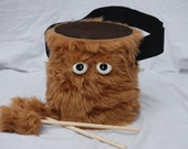 Kids Drum - Furry Brown Handmade Durable Eco-Friendly Fun Coolest Marching Drum For Kids 'BLAST BUDDY'
