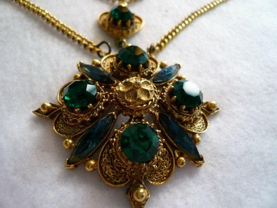 Vintage Florenza Renaissance Necklace