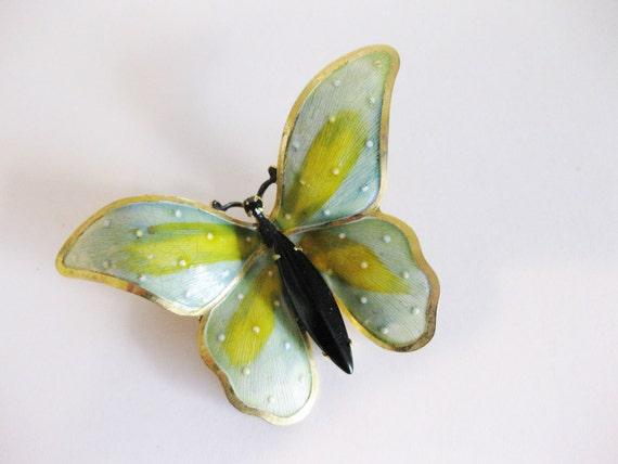 Vintage Butterfly Brooch Original By Robert