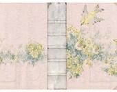 Book Cover Instant Download no.391 Birds Antique Wallpaper Collage Sheet Tattered Vintage 391