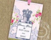Keep Calm Instant Download no.533 Printable Parody Tags Antique Wallpaper Collage Sheet Tattered Vintage 533