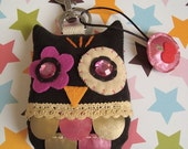 HOLIDAY'S SALE---Owl Keychain